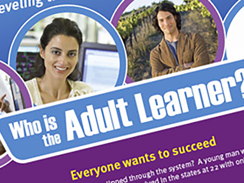 Adult Learners Sales Flyer