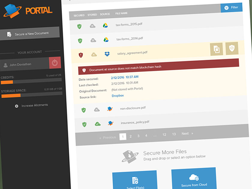 Portal: Document Management